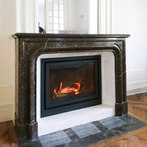 Une rénovation de cheminée sur mesure